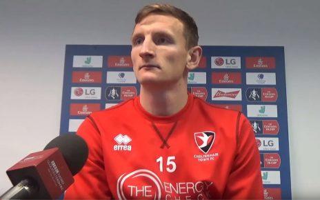 Cheltenham Town defender Will Boyle